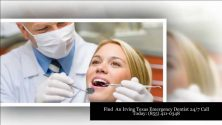 Irving Tx Emergency Dentist