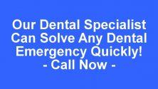 Waco Tx Emergency Dentist